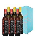 Ctrl+Alt+Del 3 Blanco semi-dulce + 3 Rosado semi-dulce - Vino joven de la Tierra de Castilla - La Mancha - 6 botellas 75 cl