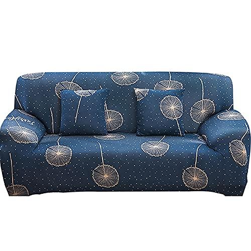 Funda de sofá elástica Estampada para Sala de Estar, Funda de sofá de Esquina combinada Moderna, Funda de sofá, Funda Protectora para Silla, A5, 3 plazas