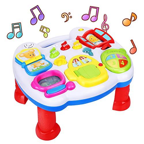 ARANEE Giochi Musicali Gioco Tavolo Cresci e Impara Gioco Educativo Prima Infanzia per Neonati di 6 + Mesi