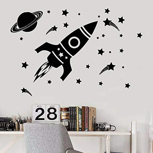 Tianpengyuanshuai Space kleuterschool muur stickers kinderkamer meisjes muur stickers home decoratie tiener behang babykamer