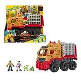 Jurassic World Camión de transporte para dinosaurios Coche de juguete Mattel HCH97