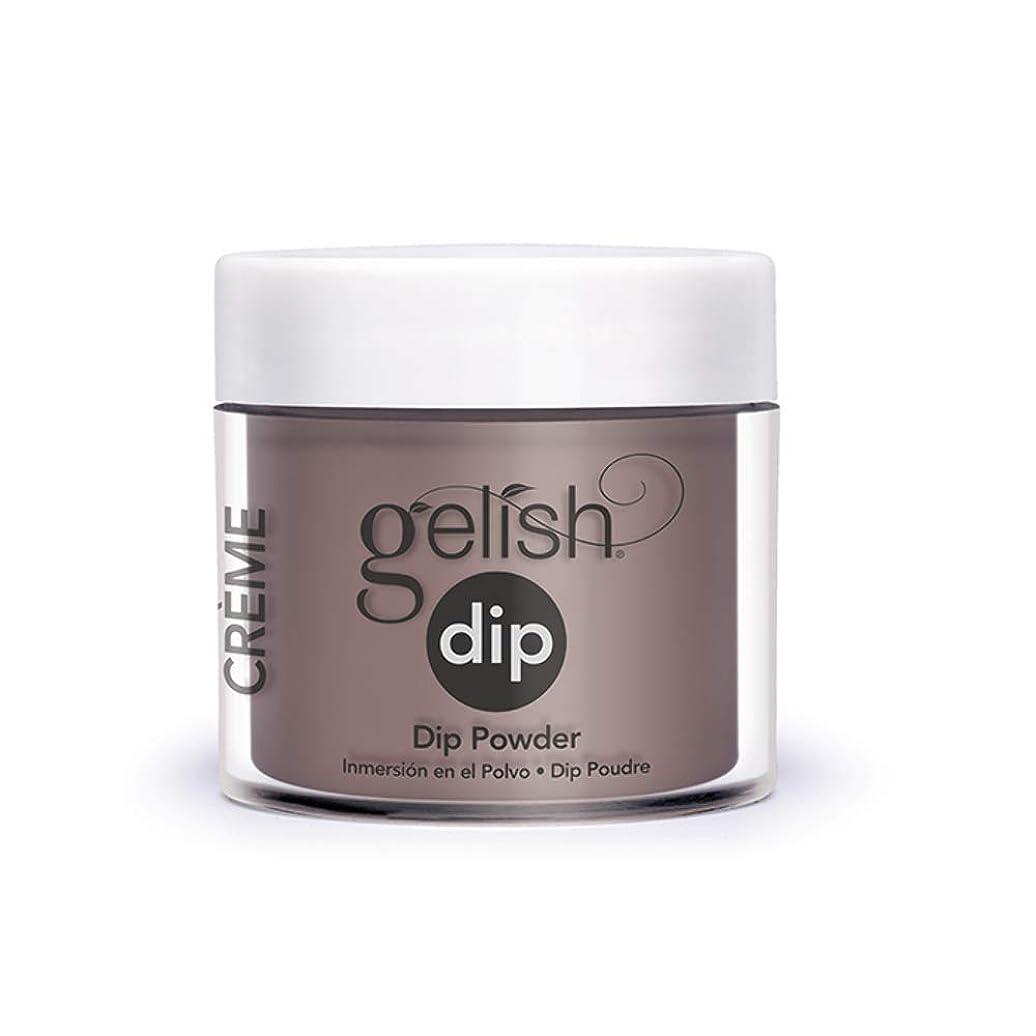好色なスリップシューズ迫害するHarmony Gelish - Acrylic Dip Powder - Latte Please - 23g / 0.8oz