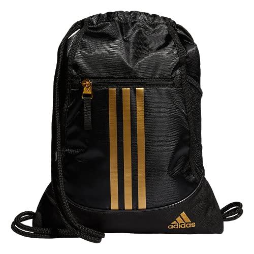Mochila Adidas Alliance II, Preto/Dourado, Tamanho Único