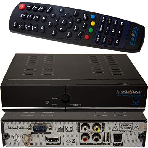 Medi@link Smart Home ML 1100S Hybrid Satelliten Receiver DBC-S2 IPTV S2 FTA Magic Medialink Media link Full HD