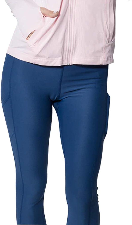 BloqUV Women's Compression Capri No Stripe Tights