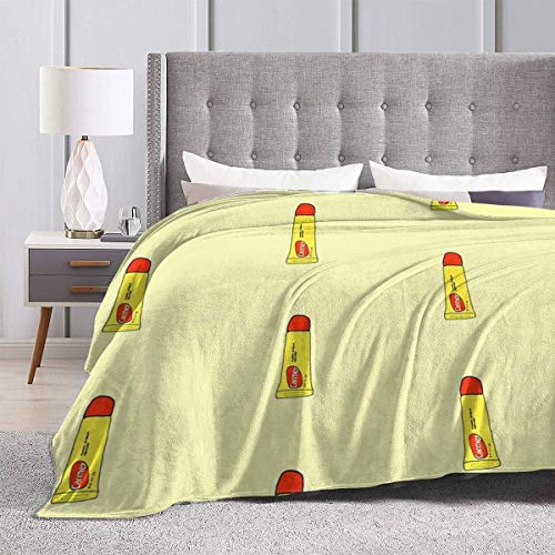 Yaxinduobao Bed Blanket Throw-Blankets for Kids Teenages Adults Carmex Chapstick Ultra Soft Micro Fleece Blanket Couch 60X50inches