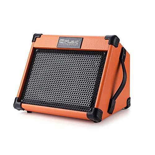 Fesjoy Amplificador BT para el hogar Altavoz para exteriores Amplificador de rendimiento para guitarra de calle Altavoces de instrumentos de cuerda