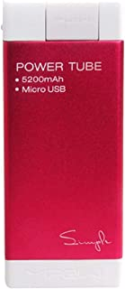Mipow SPM-04-RD 5200 mAh Simple Power Tube for Samsung, Red