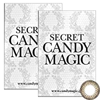 Secret Candymagic monthly シークレット キャンディー マジック マンスリー 【カラー】ダークモカ 【PWR】-6.00 1枚入 2箱