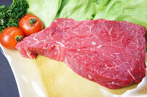 【冷凍配送】【 馬肉 】【 ステーキ 】 馬シャトーブリアン (ヒレ) 300g(150g×2P) タレ・調理例説明書付