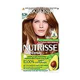 Garnier Nutrisse 6.34 - Tinte para el cabello permanente, Dark Natural Red