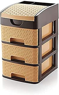 Apex Enterprise Plastic Drawer System Organizer Rack | 1 Unit | Multicolor | Tabloid Storage for Home, Kitchen and Office ...