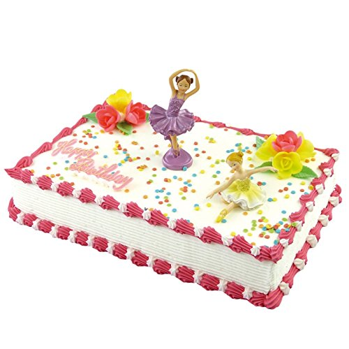 Cake Company Tortendekoration Tänzerin mit essbaren Blüten