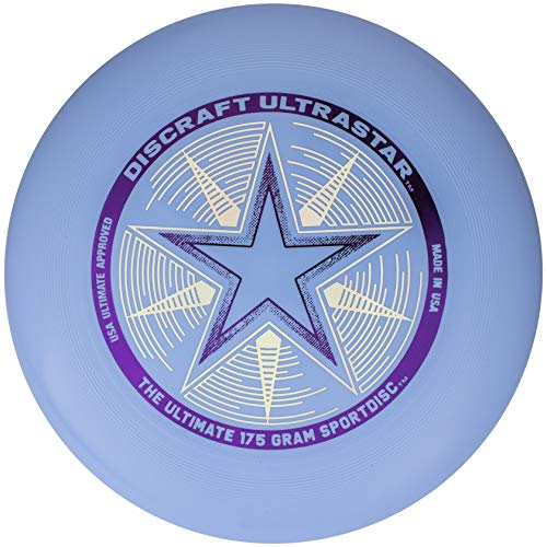 Discraft Ultra Star Sport-Scheibe, 175g, hellblau