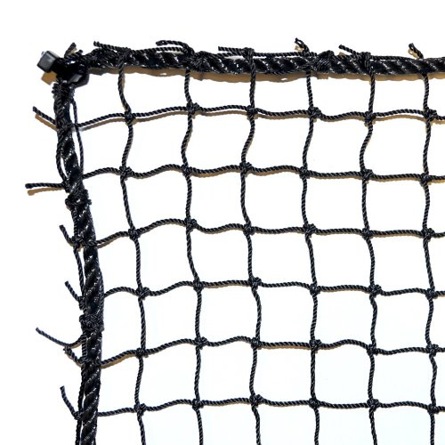Dynamax Sports Golf Practice/Barrier Net, Black, 10X30-ft