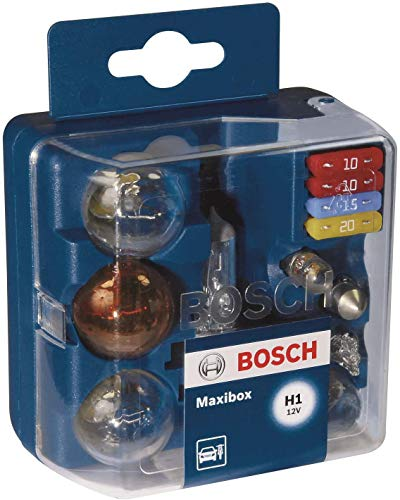 Estuche de lámparas de repuesto Bosch Maxibox H1 12V
