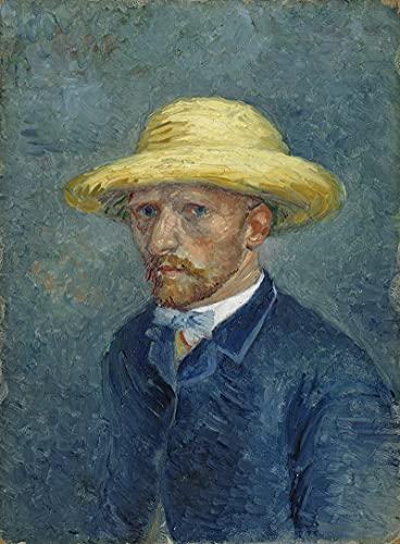 PLKIJ Puzzle Personalizzabili da 1000 pezzi Vincent Van Gogh-Auto ritratto-Gioco di puzzle per adulti e adolescenti Giocattoli Regalo Decorazione per la casa Giocattoli fai da te per 75x50 cm