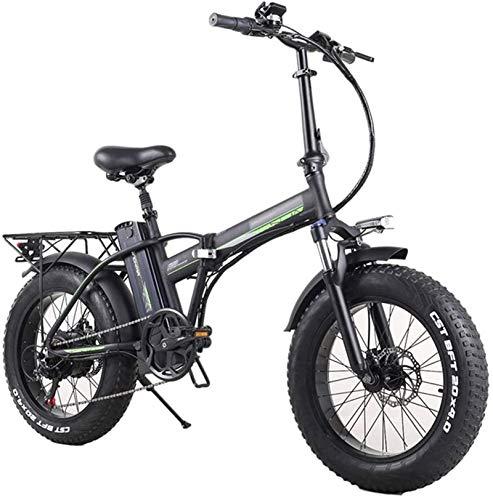 RDJM Bici electrica Bicicleta eléctrica E-Bikes plegable 350W 48V, ligero plegable de la aleación de la ciudad for bicicleta todo terreno con pantalla LCD, for viajes for hombre ciclo al aire libre de