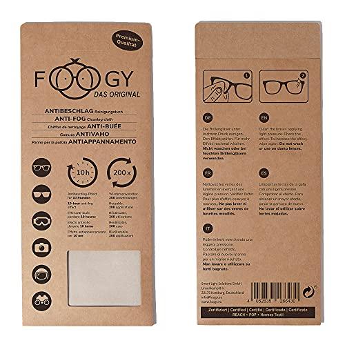 FOOGY Paño Microfibra Antivaho Gafas | Gamuza Antivaho Gafas | Bayeta Microfibra Para Limpia Gafas | Toallitas Antivaho Gafas | Toallitas Limpia Gafas | Toallitas Gafas Antivaho