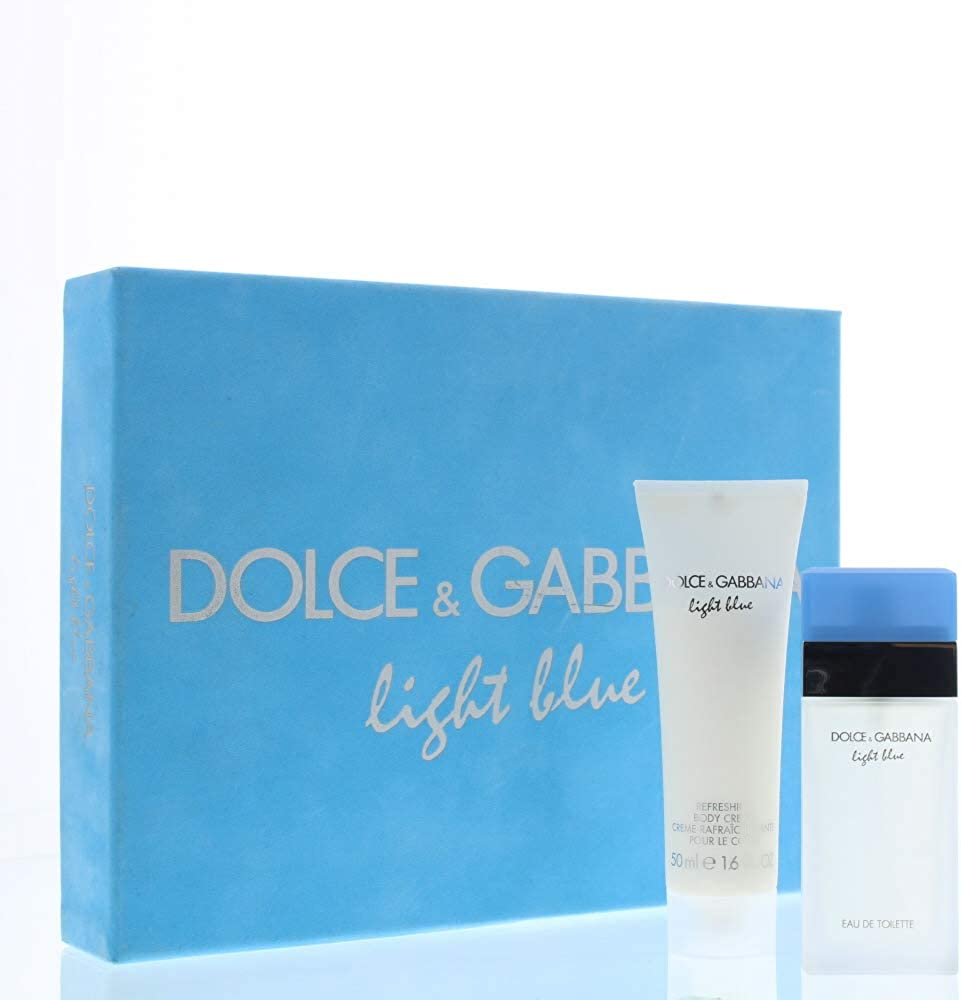 Light blue edt 25 ml + body cream 50 ml di dolce&gabbana, donna - cofanetto 10005087