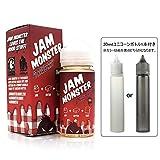 STRAWBERRY 100ml【30mlユニコーンボトル1本付き】/ Jam Monster