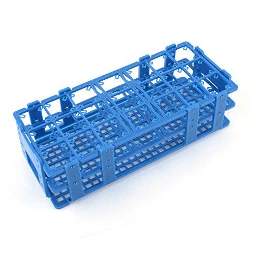 Blaugrün, Kunststoff, 21-Loch-Halter für Zentrifugen, 50-ml-Tuben DE de