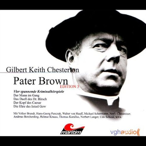 Vier Kriminalgeschichten - Pater Brown (Edition 3) audiobook cover art