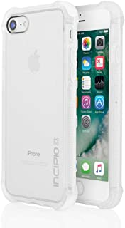 iPhone 7 & iPhone 8 Case, Incipio Reprieve [Sport] Protective Cover [Shock Absorbing] fits Apple iPhone 7 & Iphone 8, clear/clear
