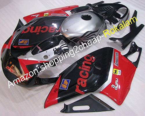 01-05 RS125 Kit de cuerpo para piezas de carenado Aprilia RS125 2001-2005 RS 125 Deportes Bike Racing Moto Carenados