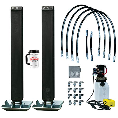 Double Hydraulic Trailer Jack Kit with Hydraulic Pump | 10k Atlas Stillwell Jacks