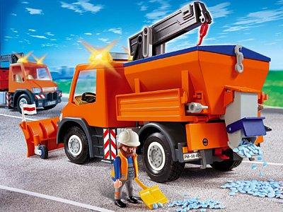 PLAYMOBIL® 4046 - Straßenmeisterei-Fahrzeug