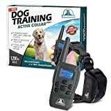 Pet Union PT0Z1 Premium Dog Training Shock Collar, Fully Waterproof, 1200ft...