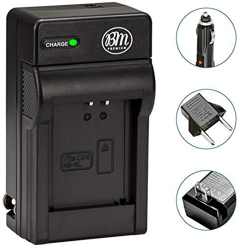 BM Premium NB-11L, NB-11LH Battery Charger for Canon PowerShot Elph 110, Elph 130, Elph 135 IS, Elph 140 IS, Elph 150 IS, Elph 160, Elph 170 IS, Elph 180, Elph 190 IS, Elph 320 HS, Elph 340 HS, Elph 350 HS, Elph 360 HS, A2300 IS, A2400 IS, A2600 IS, A3400 IS, A4000 IS, SX400 IS, SX410 IS, SX420 IS Digital Camera