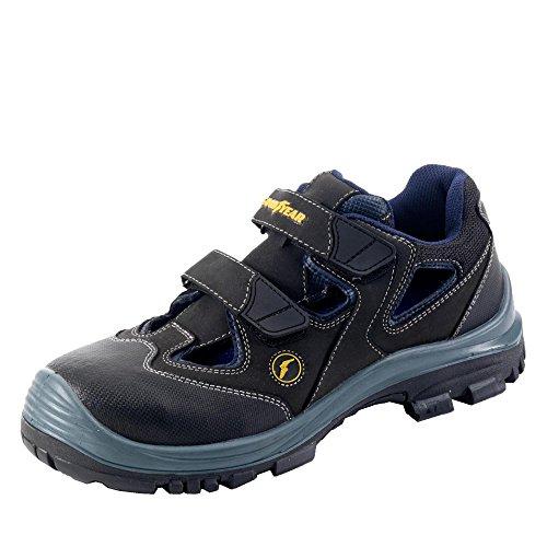GOODYEAR Sicherheitsschuhe G 8550 Arbeitsschuhe Sicherheitssandale Sandale, Schuhgröße:39