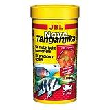 JBL NovoTanganjika 30021 Alleinfutter für räuberische Buntbarsche, Flocken 1 l