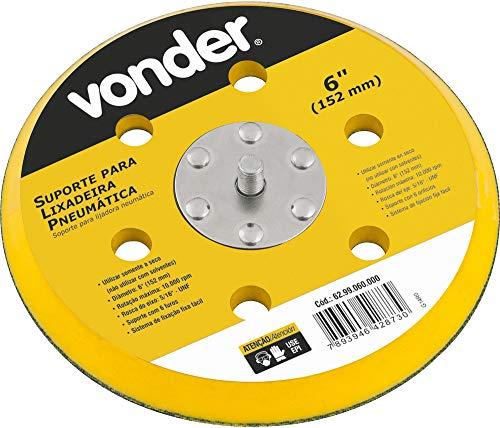 Suporte/base para lixa, para lixadeira roto orbital pneumática LP 610, Vonder