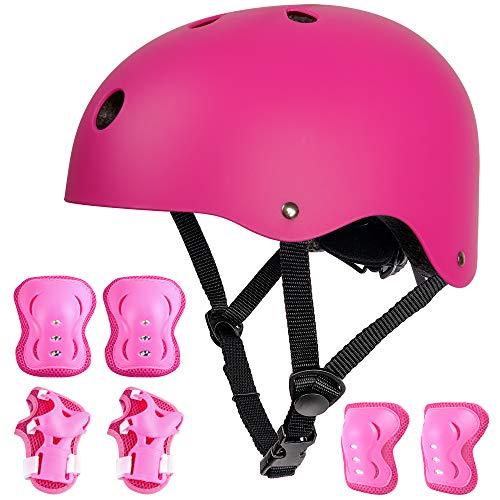 arteesol Kinder Jugend Fahrradhelm, Unisex Kinderhelm CE-Zertifizierung Skaterhelm 3-13 Jahre Alt Mädchen Junge, für Fahrrad Sport Skateboard Scooter