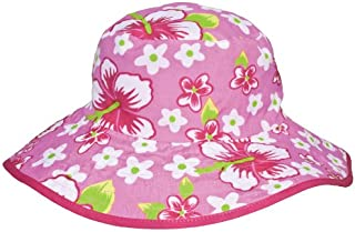 Baby Banz UV Reversible Bucket Hat, Pink Floral