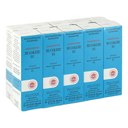 MUCOKEHL Augentropfen D 5 10X5 ml