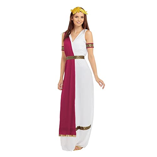 43fd3037c Bristol Novelty AC398 Greek Goddess Costume, UK Size 10-14