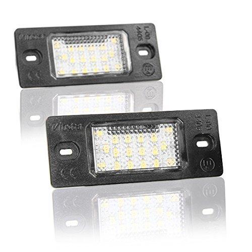 Light Delux LED Kennzeichenbeleuchtung mit Zulassung V-030608
