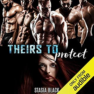 Theirs to Protect: a Reverse Harem Romance audiobook cover art