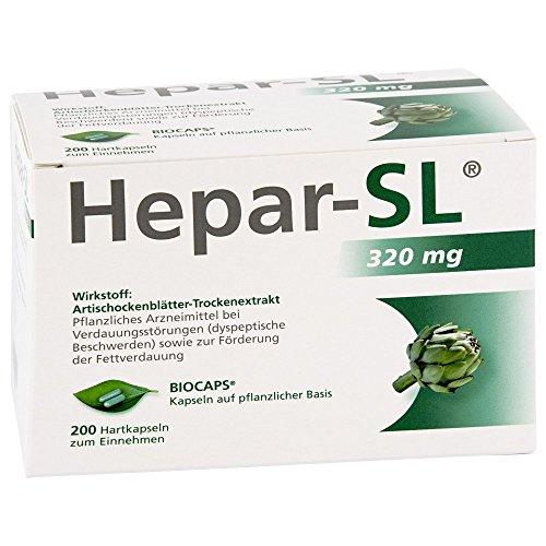 HEPAR-SL 320 mg Hartkapseln 200 St