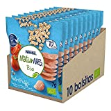 Naturnes BIO Bolsita Snacks Tomate zanahoria cebolla 7g - Pack de 10