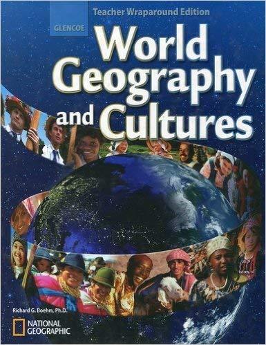 Glencoe World Geography and Cultures Teacher Wraparound Edition