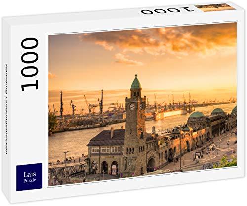 Lais Puzzle Hamburg Landungsbrücken 1000 Teile
