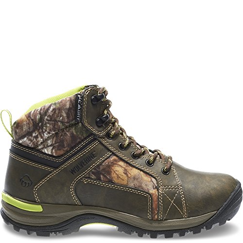 Wolverine Women's Sightline Waterproof Mid-Cut Hunting Boot (6 W in Natural/Realtree Xtra)