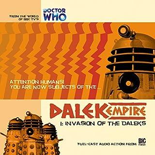 Dalek Empire - 1.1 Invasion of the Daleks cover art