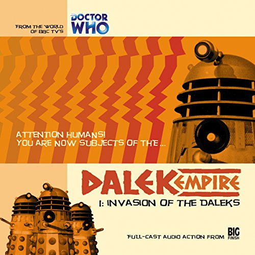 Dalek Empire - 1.1 Invasion of the Daleks cover art
