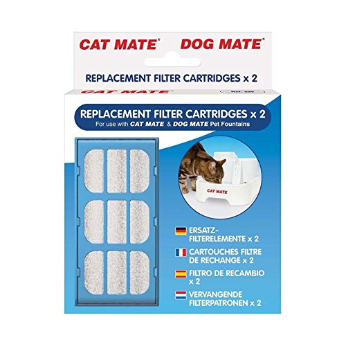 Cat Mate Replacement Filter Cartridges 4-Count